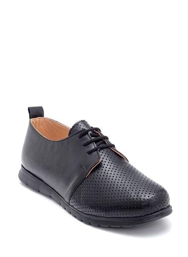 Derimod Kadın Deri Ayakkabı Siyah